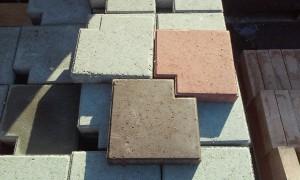 Тротуарная плитка «Тетрис»